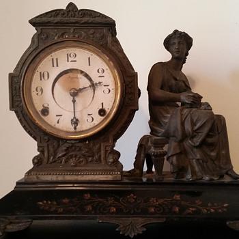 Made by E. Ingraham Co Bristol, CONN - Clocks