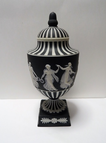 Wedgwood Jasperware Dancing Hours Urn Collectors Weekly