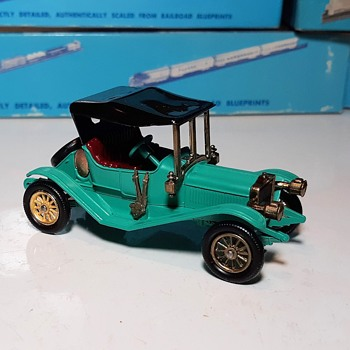 Much More Moldy Musty Matchbox Monday Y-14 1911 Maxwell Model GA Roadster - Model Cars