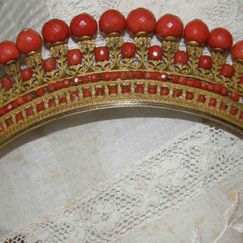 Napoleon Time ballroom Pride,Pomponne and Coral Tiara - Fine Jewelry