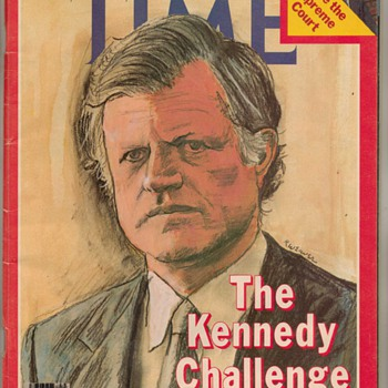 1979 - TIME Magazine - Ted Kennedy