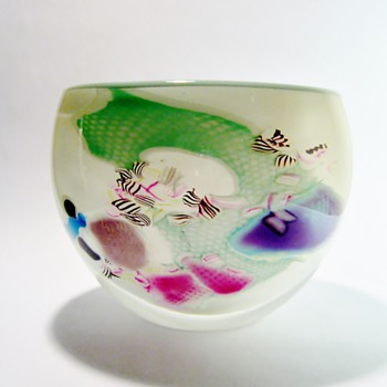 MICHAEL MEILAHN - USA /DATES AROUND THE 1980'S - Art Glass