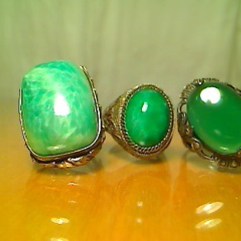 Set of three rings - Costume Jewelry