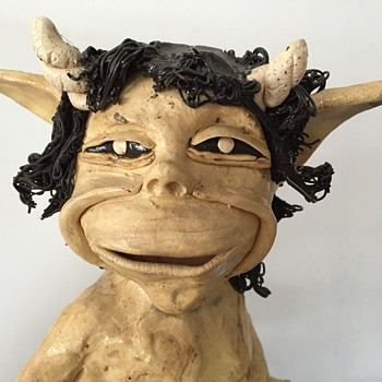 Hand crafted pottery Faun - Pottery