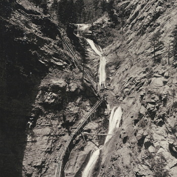 "Seven Falls Colorado""11 July 1901 - Photographs"