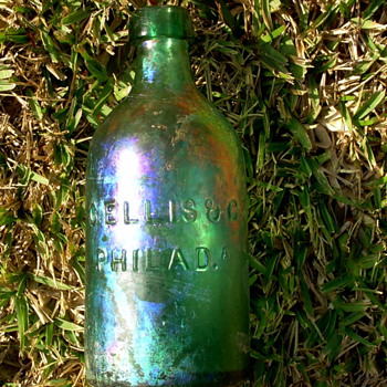 *****Old  pontiled mineral water bottle.***** - Bottles