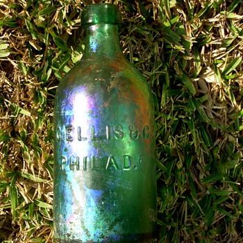 *****Old  pontiled mineral water bottle.***** - Bottles