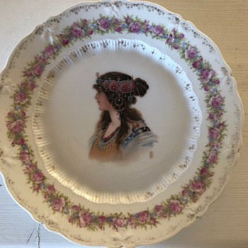 Carl Teilsch hand painted numbered plate - China and Dinnerware