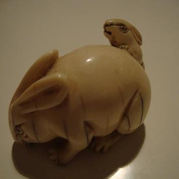 netsuke ivory - Asian