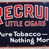 Recruit Cigars sign