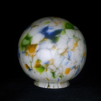 Art deco shade/globe - Art Glass
