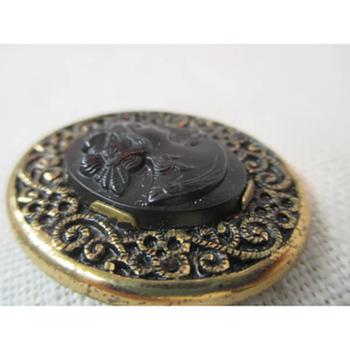 Antique Cameo Robbin co Attleboro  - Fine Jewelry