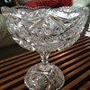 American Brilliant Cut Glass Punchbowl (Smaller Size)