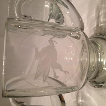 vintage mobil oil mugs - Petroliana