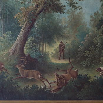 Unknown Artist 19th Century English Oil Painting