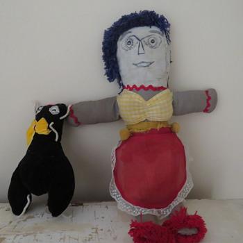 folk art doll?