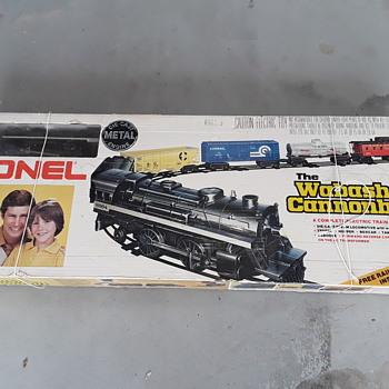 1970's LIONEL WABASH CANNONBALL TRAIN SET - Model Trains