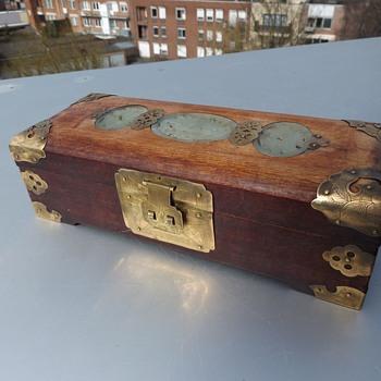 CHINESE JADE JEWEL BOX - Fine Jewelry
