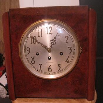 1934 Seth Thomas Art Deco Chime Clock #81