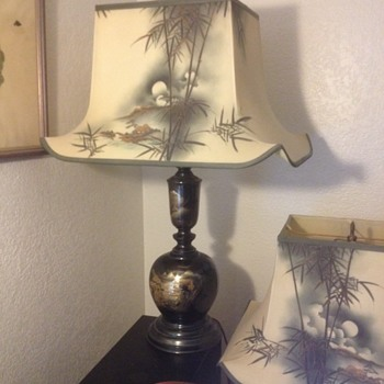 japanese decorated lamps (2) - Lamps
