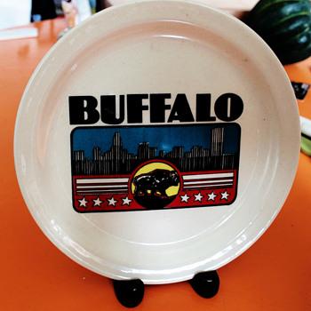 Buffalo, NY Art Deco Plate - Art Deco
