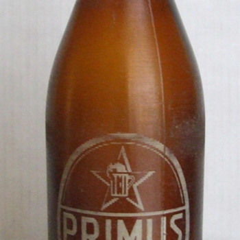 Old Primus Congo Beer Bottle