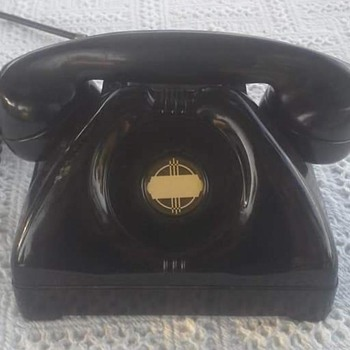 Connecticut Telephone and Electric Company Signal Corps US Army TP-6-A No. 6509 with optional dial delete. - Military and Wartime