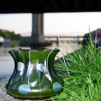 Loetz Kralik Streifen und Fleckin  ? - Art Glass