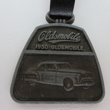1950 Oldsmobile Pocket Watch Fob