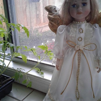Angel Porcelain doll  - Dolls
