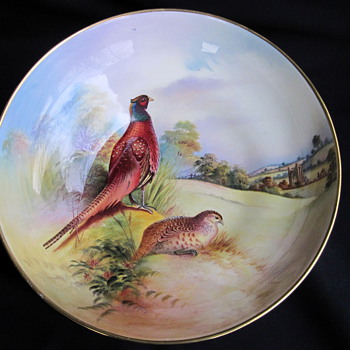 Aynsley fine art collection bowl - China and Dinnerware