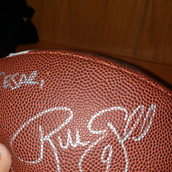 Unknown football signature  - Football