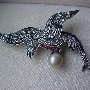 Tiffany brooch? unmarked.  - Fine Jewelry