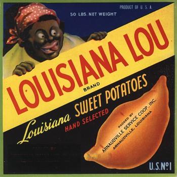 Louisiana Lou Yam Sweet Potatoes - Advertising