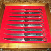 Snap-on steak knives