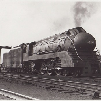 Vintage Lehigh Valley RR Photos - Photographs