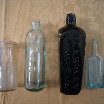 Old Bottles Still in Refrfigerator - Bottles