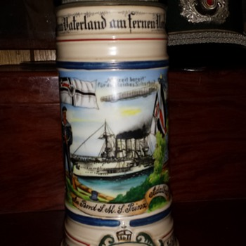Naval Reservist's Stein whose ship was torpedoed twice by British submarines