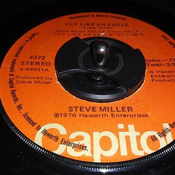 THE STEVE MILLER BAND - Records