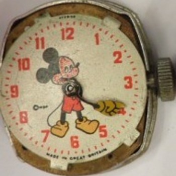 my fave mickey mouse watch - Wristwatches