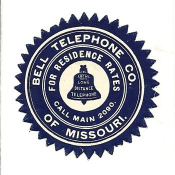 The Bell Telephone Company of Missouri - Telephones