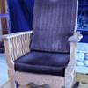 morris / victorian wood recliner