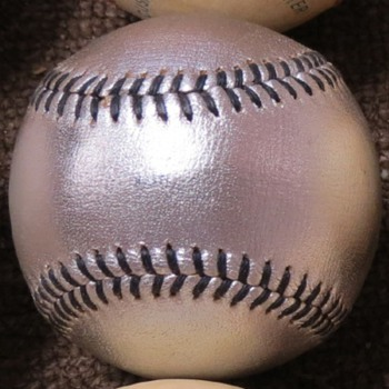 Rawlings Silver Baseball?