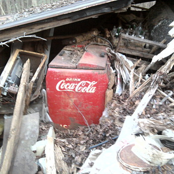Found this in abandoned homestead - Coca-Cola