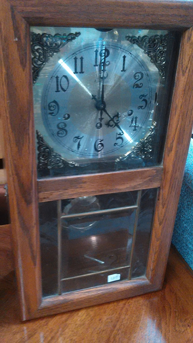 Cool 60s looking 8 day Westminster chime ansonia wall clock ...