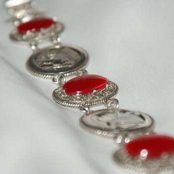 Egyptian Silver Vintage Bracelet - Fine Jewelry