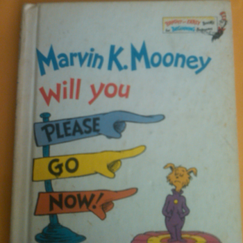 marvin k. Seuss book - Books
