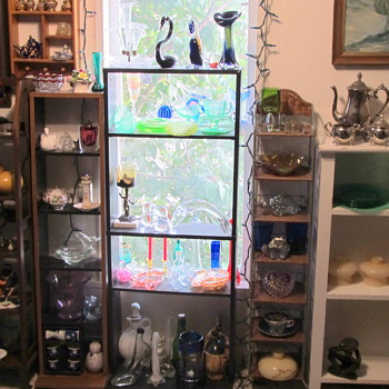 Part of my glass collection - Art Glass