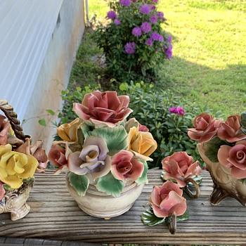 Porcelain flowers  - Pottery