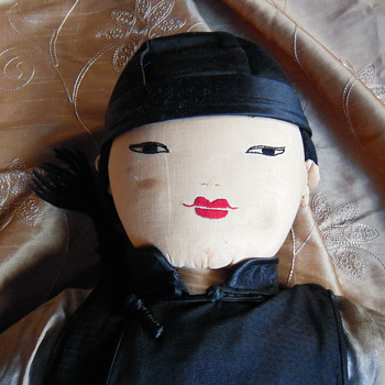 Antique Japanese Doll, need help with the age and what type please - Dolls